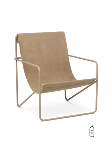 Bilde av Ferm Living - Desert Lounge Chair - Sand/Cashmere
