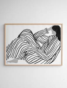 Bilde av Fine Little Day - Bored Poster - 50x70cm