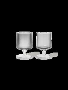 Bilde av Ferm Living - Ripple Wine Glasses (Set of 2)