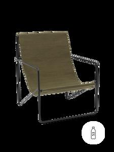 Bilde av Ferm Living - Desert Lounge Chair oliven/sort