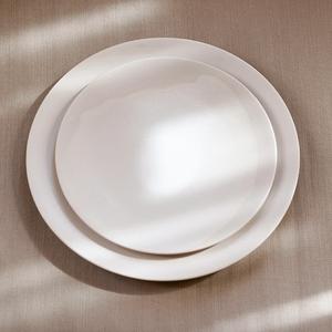 Bilde av Pagina - Melk Ceramic Tallerken - Smal